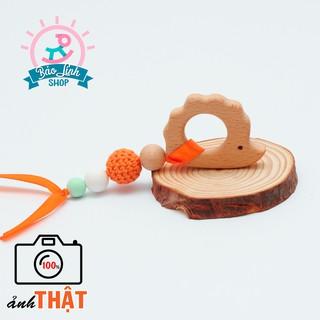 Vòng tập cầm nắm hình thú cho bé vận động tinh (Mẫu 11)|Đồ chơi an toàn