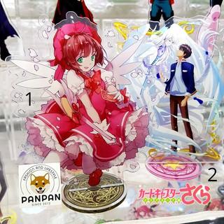 Mô Hình Standee Acrylic Anime Hình Sakura 2