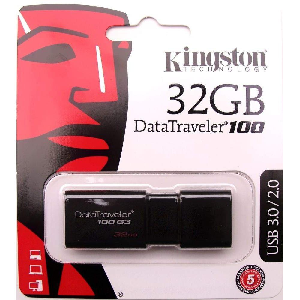 USB 32G Kington 3.0 Chính Hãng FPT Giá chỉ 100.000₫