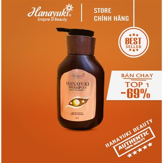 [SALE SHOCK] HANAYUKI - Siêu dầu gội xả Hanayuki shampoo CHINH HANG 100% -Hanayuki Clinic Vietnam