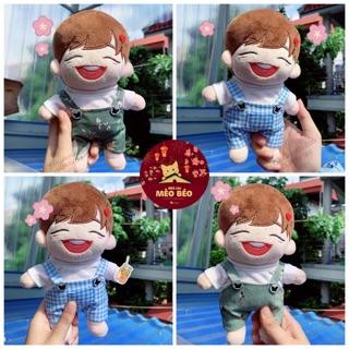 (Ord) áo + yếm cho doll 15 & 20cm