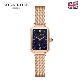 Đồng hồ nữ cao cấp, đồng hồ Lolarose dây kim loại mặt vuông galaxy tinh tế sang trọng, chống nước bảo hành 2 năm LR4138 thumbnail