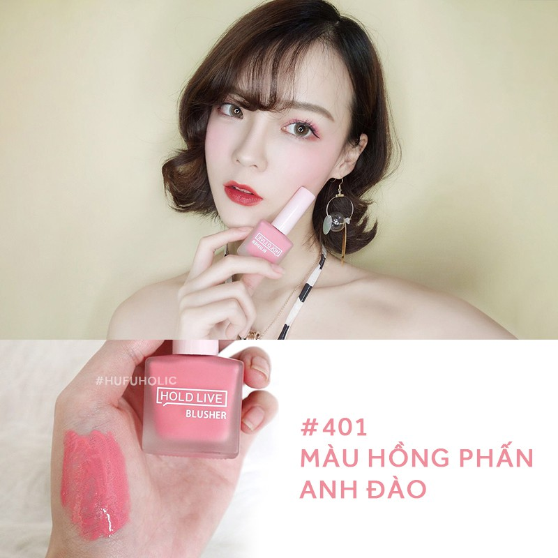 HOLD LIVE - Phấn má dạng lỏng liquid blush juicy hold live blusher 403 HOLDLIVE