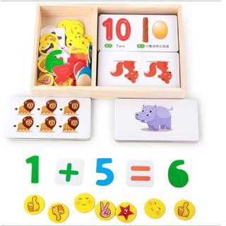 Đồ chơi bộ học toán vui vẻ cho bé