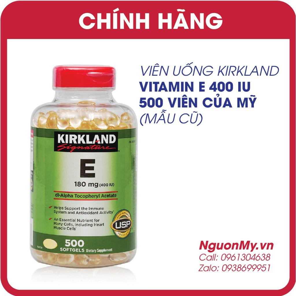 Kirkland Signature Vitamin E 400 IU (date 3/2021)
