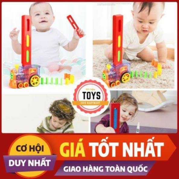 HN1210 Tàu hoả domino cho bé
