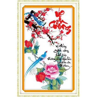 Tranh thêu chữ thập chưa thêu Vợ Chồng Nghĩa Nặng Tình Sâu, Thương Nhau Đến Lúc Bạc Đầu Còn Thương - 3069090 , 383472953 , 322_383472953 , 101000 , Tranh-theu-chu-thap-chua-theu-Vo-Chong-Nghia-Nang-Tinh-Sau-Thuong-Nhau-Den-Luc-Bac-Dau-Con-Thuong-322_383472953 , shopee.vn , Tranh thêu chữ thập chưa thêu Vợ Chồng Nghĩa Nặng Tình Sâu, Thương Nhau Đến Lúc Bạ