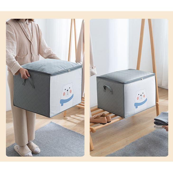Túi vải đựng quần áo/ hộp đựng quần áo/ Giỏ đựng quần áo đa năng