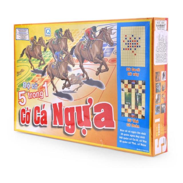 Cờ cá ngựa hộp giấy lớn LHT 21,2 x 28 x 4,3 (cm)
