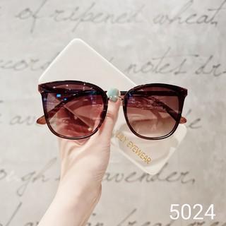 Hình ảnh [Mã FARSBR22A giảm 10% đơn 99k] Kính mát nữ Lilyeyewear chống UV400, thiết kế mắt vuông dễ đeo, màu sắc thời trang 5024-5