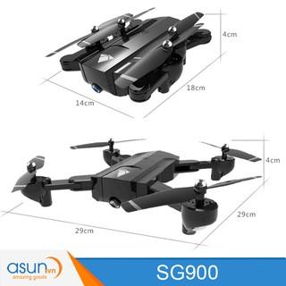Máy Bay Điều Khiển Gấp Cánh Drone SG900 WIfi Camera 720 Tự Giữ Độ Cao 2 camera