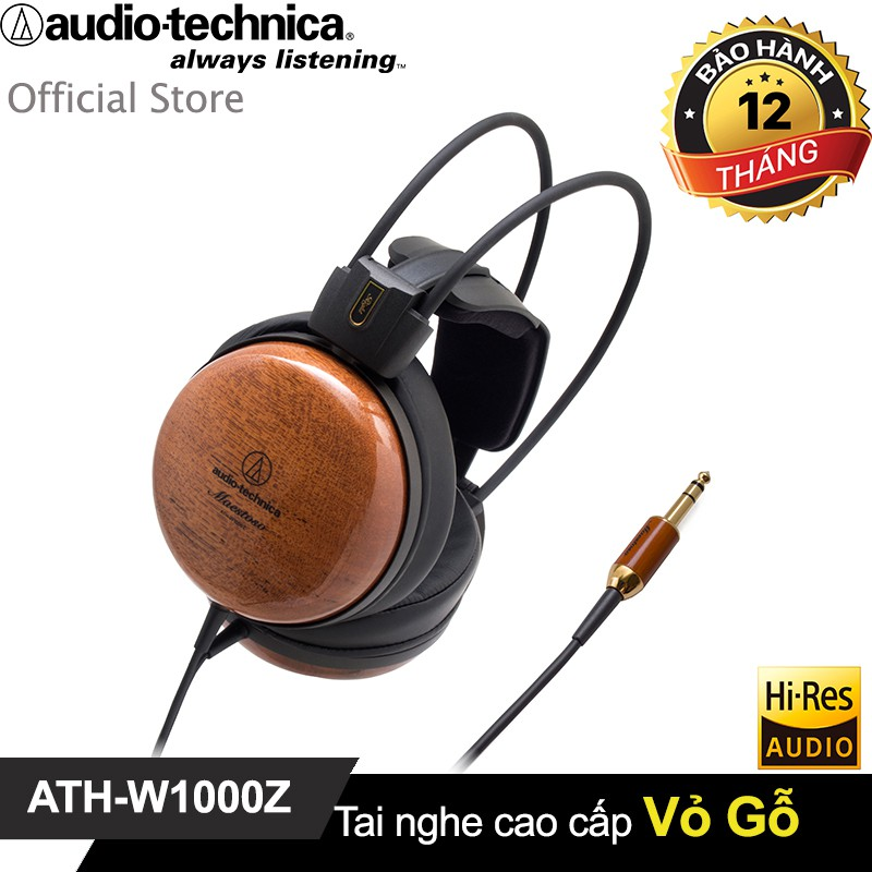 Tai nghe Audio-Technica Over-ear Audiophile (Close back vỏ gỗ) HiRes ATH-W1000Z - 3118963 , 1096978256 , 322_1096978256 , 12900000 , Tai-nghe-Audio-Technica-Over-ear-Audiophile-Close-back-vo-go-HiRes-ATH-W1000Z-322_1096978256 , shopee.vn , Tai nghe Audio-Technica Over-ear Audiophile (Close back vỏ gỗ) HiRes ATH-W1000Z