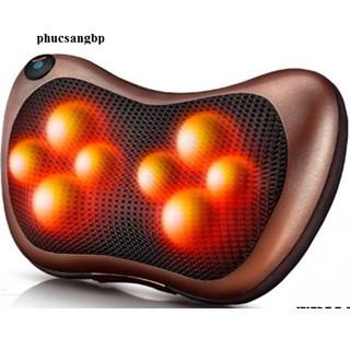 Gối massage hồng ngoại 8 bi cao cấp đa năng công nghệ nhật bản xoa tan nhức mỏi uy tín chất lượng thumbnail