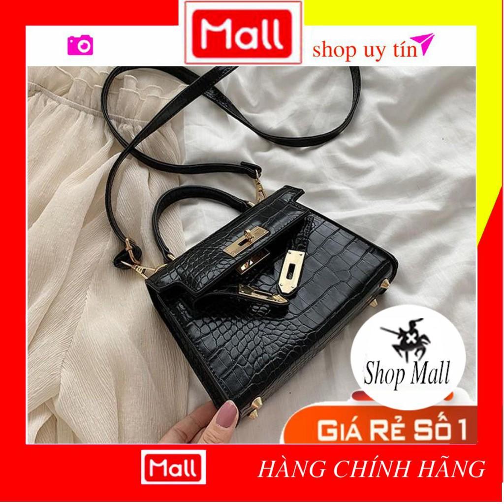 Túi xách nữ quảng châu 💖Tui xach 💖-Túi Xách Nữ HM Da Rắn Dễ Thương cao cấp HM23-Shop Mall