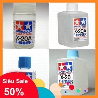 Dung Môi pha sơn tẩy line Tamiya Thinner Enamel Paint X20 - ShopAB