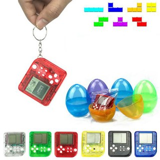 Classic Mini Hand-Held Game Player Pendant Pressure Releasing Toy