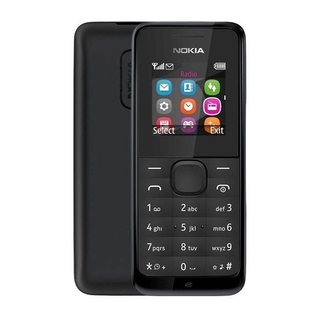Điện Thoại Nghe Gọi Nokia 105 Zin Chính Hãng BH 12 Tháng Kèm Pin Sạc