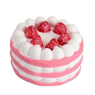 Đồ chơi Squishy hình bánh kem dâu dùng cho trẻ nhỏ shop anhnam