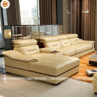 Sofa Bọc Da Nhập Khẩu Chất Lượng Cao DP-SCC23