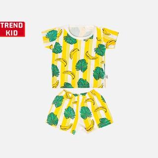Bộ quần áo bé trai bé gái chất liệu 100% cotton hình chuối vàng BABYWANT thumbnail