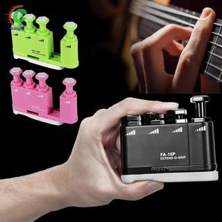 Flanger Extendable Strength Adjustable Finger Exerciser Train for Ukulele Guitar Bass Piano Violin