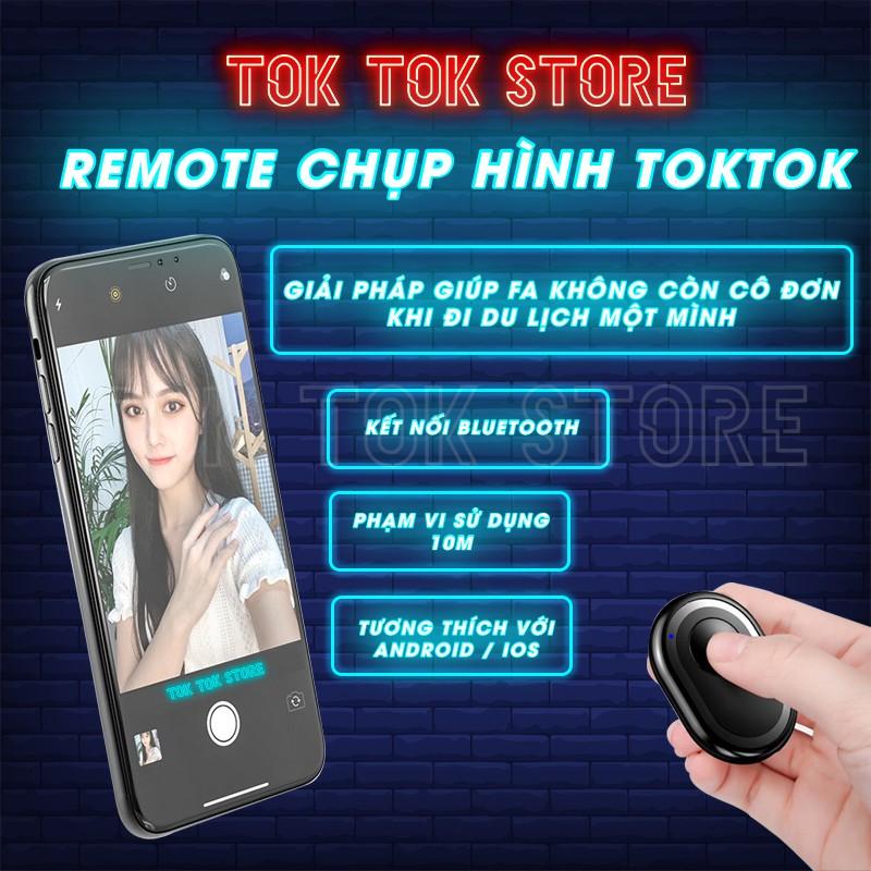 Remote Điều Khiển Chụp Hình Bluetooth Cho Điện Thoại Android – IOS Hàng Loại 1 TOKTOK STORE.