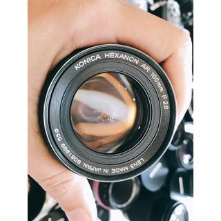 Ống kính MF Konica Hexanon AR 100mm F2.8 thumbnail