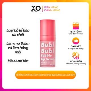 Tẩy Tế Bào chêt Siêu Mềm Môi Unpa Bubi Bubi Bubble Lip Scrub 10ml lành tính cho làn da môi nhạy cảm thumbnail