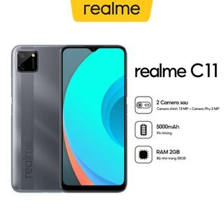 """[Nhập mã ELRBK15 giảm 150.000đ] Điện Thoại Realme C11 (2GB/32GB) - Hàng Chính Hãng giá chỉ còn <strong class=""""price"""">238.000.000.000đ</strong>"""