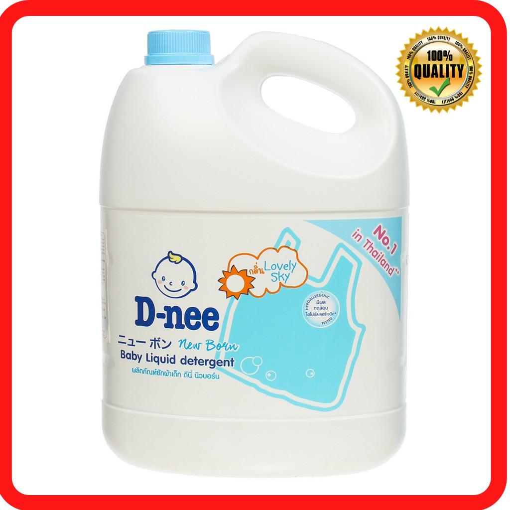 Nước giặt quần áo em bé Dnee 3000ml Hồng/ Xanh Dương