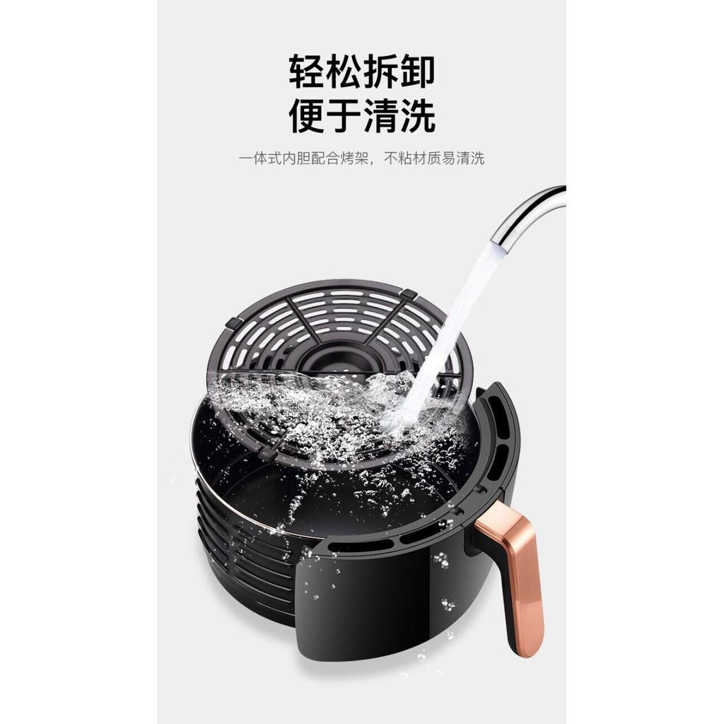 [Nhập GIAMGIA giảm 20%] Nồi chiên không dầu SHANBEN - NỘI ĐỊA TRUNG -  Dung tích 4,5L - Công suất 1400W - BH 1 NĂM