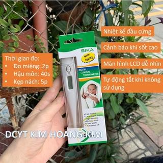 Nhiệt kế điện tử đầu cứng Sika ECT1 đo thân nhiệt cho trẻ KHK Healthcare thumbnail