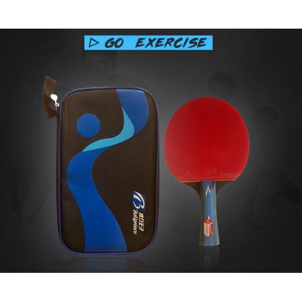 Vợt bóng bàn Boliprice - Laket bóng bàn thi đầu tiêu chuẩn Boliprice - có túi đựng T680