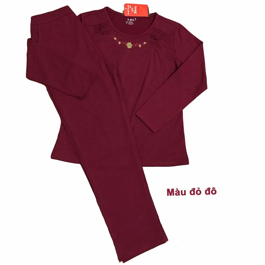 Bộ quần áo trung niên mặc nhà mùa thu chất cotton - 2871898 , 220655148 , 322_220655148 , 235000 , Bo-quan-ao-trung-nien-mac-nha-mua-thu-chat-cotton-322_220655148 , shopee.vn , Bộ quần áo trung niên mặc nhà mùa thu chất cotton
