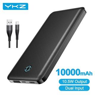 Pin dự phòng YKZ A1 10000mAh hỗ trợ sạc nhanh