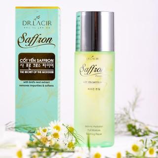 TONER CỐT YẾN SAFFRON DR.LACIR – dành cho làn da khô ráp, sần sùi, mỏng yếu, nhạy cảm
