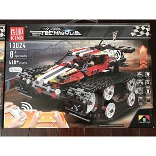 xe lắp ráp kiểu Lego' Technic xe đua địa hình bánh xích điều khiển từ xa thương hiệu Mould King