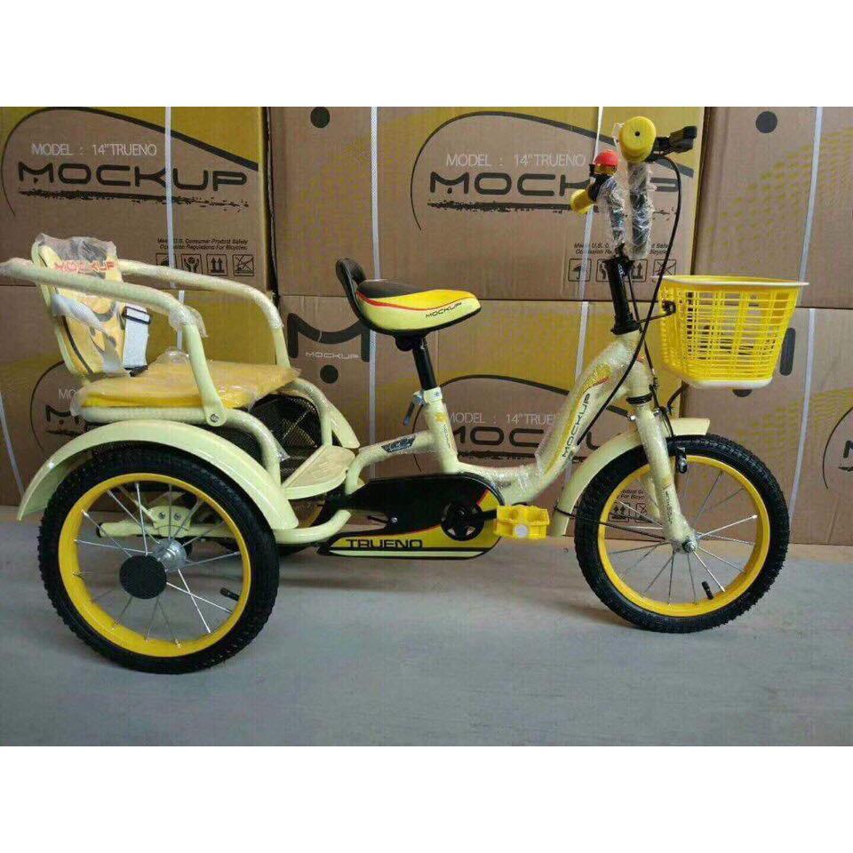 Xe đạp xích lô trẻ em Mockup