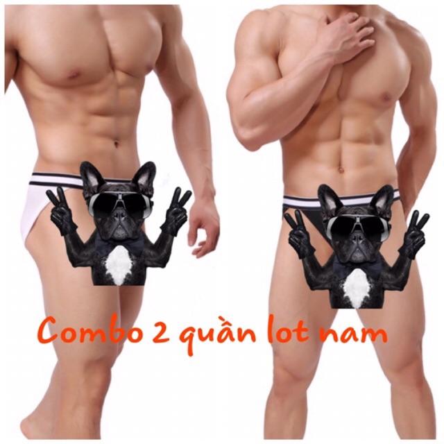 Combo 2 chiếc quần lót nam bikini