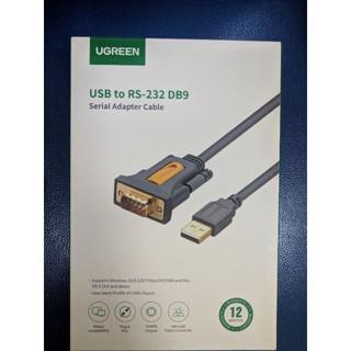 Cáp chuyển USB to COM RS232 DB9 UGREEN chính hãng dài 1.5m (mã 20211)