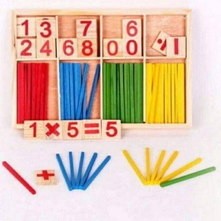 Hộp đồ chơi học toán cho bé