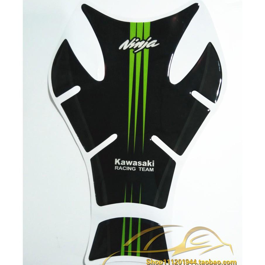 Decal xương cá 3D Ninja Kawasaki