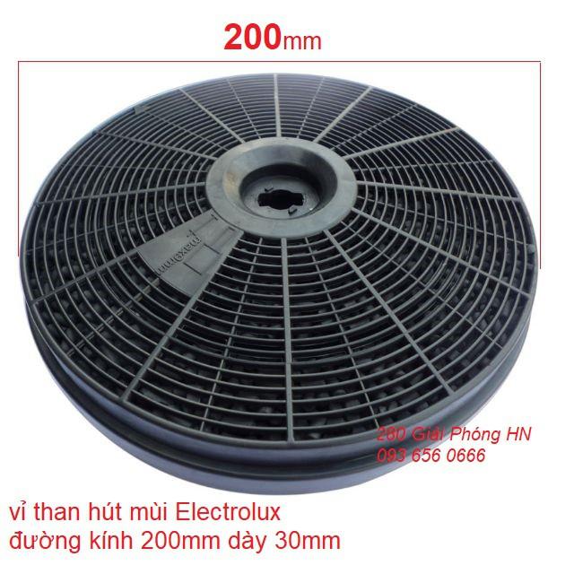 Vỉ than hoạt tính cho máy hút mùi Faster Sunhouse Giovani Grasso / Electrolux cổ điển