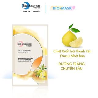 [DEAL ĐỘC QUYỀN] Mặt nạ dưỡng trắng chuyên sâu Bio-Essence chiết xuất Yuzu 20ml