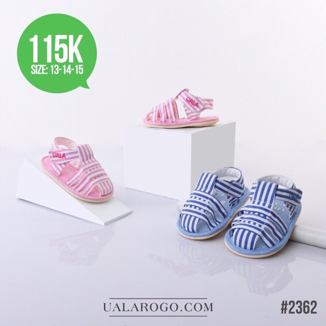 Giày vải tập đi cho bé