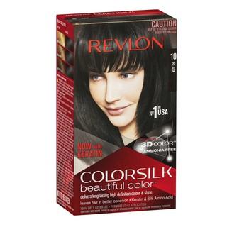 Thuốc nhuộm tóc Revlon Black 10 màu đen - Mỹ - 130ml