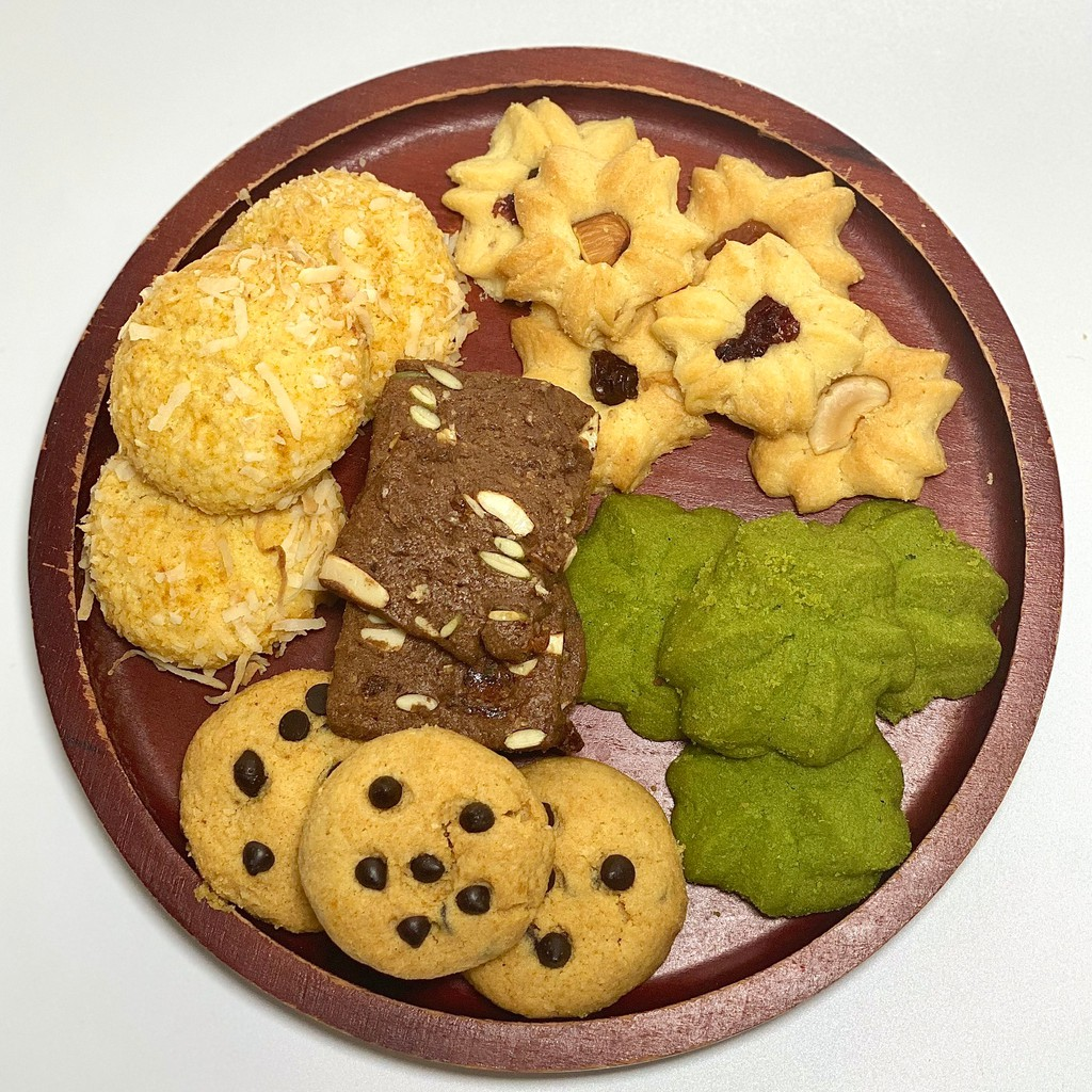 Bánh cookies nguyên cám GreenFood, Bánh ăn kiêng giảm cân không đường