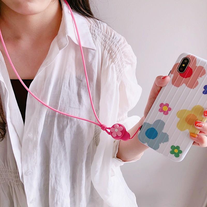 Dây đeo cổ gắn điện thoại kiểu dáng hoạt hình ngộ nghĩnh đáng yêu