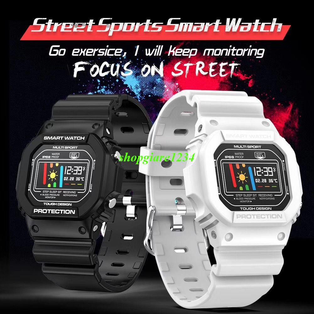 Đồng hồ thông minh thể thao Smartwatch X12 - Đo Nhịp Tim, Chống Nước Chuẩn IP67