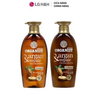 Bộ đôi Dầu gội và dầu xả nuôi dưỡng tóc Organist chiết xuất từ tinh dầu Morocco Argan - Dành cho tóc hư tổn thumbnail